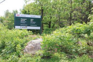 National Park sign