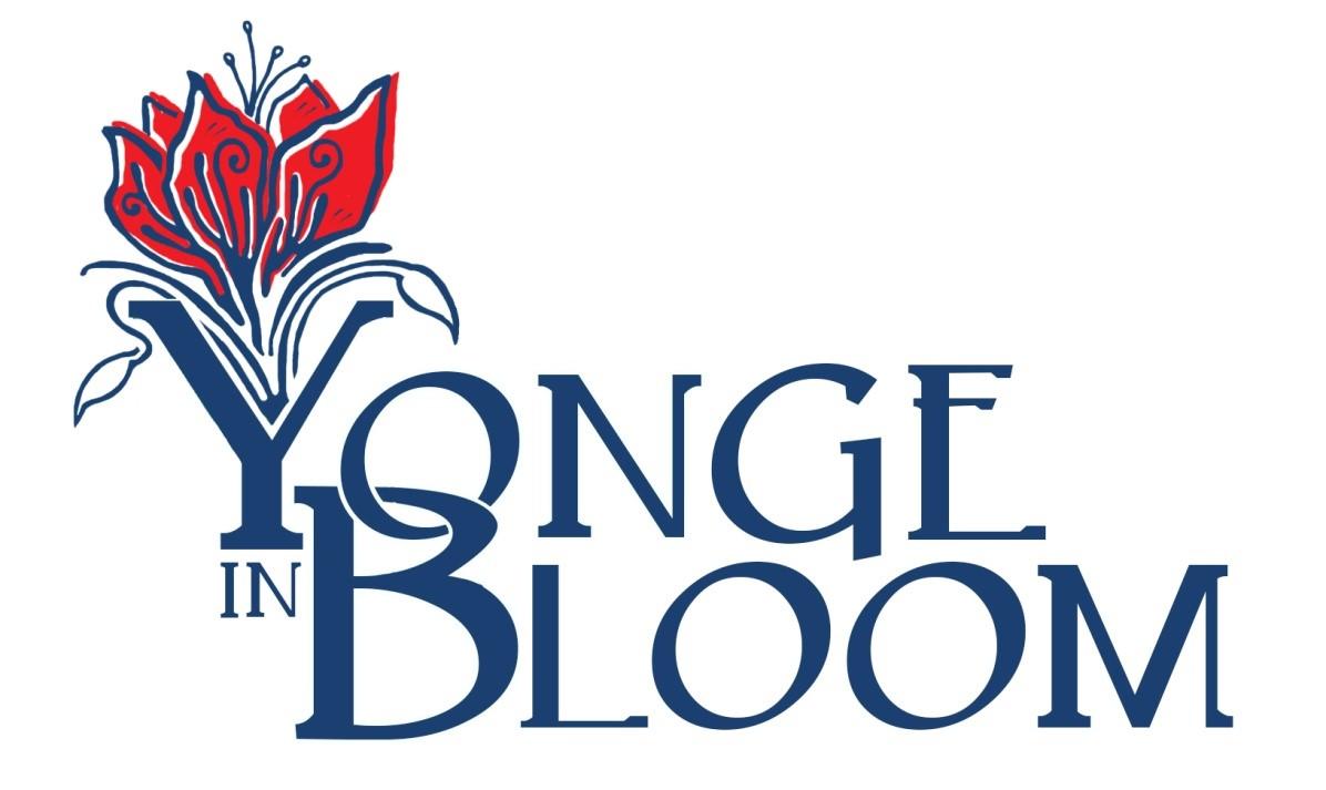 Yonge in Bloom Logo