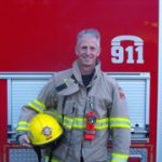 Firefighter Kelly Gallant