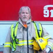 Firefighter Steve Acton