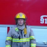 Firefighter Steve Heward